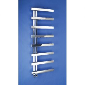 Bisque Alban Electric Towel Warmer right handed Stainless Steel Mirror 1450mm x 500mm
