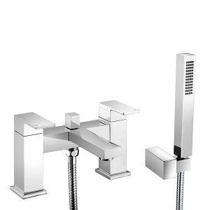 RAK Cubis Bath Shower Mixer Tap – Chrome