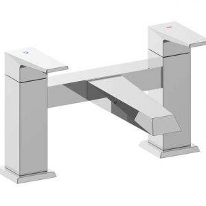 RAK Dimensions Dual Lever Bath Filler Tap Deck Mounted