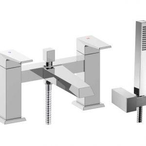 RAK Dimensions Bath Shower Mixer Tap Deck Mounted