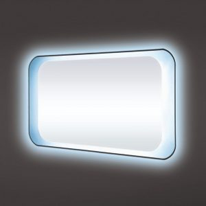 Rak harmony 1200×500 led mirror with on off switch and demister pad
