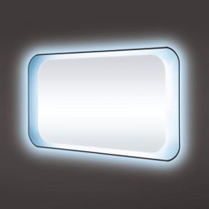 Rak harmony 900×500 led mirror with on off switch and demister pad