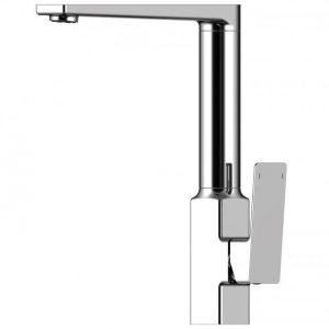 RAK Square Kitchen Sink Mixer Tap – Side Lever
