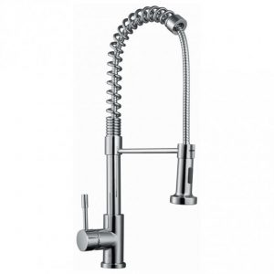 RAK Pull Out Kitchen Sink Mixer Tap Side Lever – Chrome