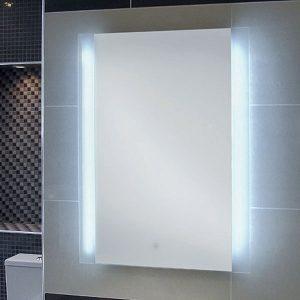 RAK Manhattan LED Mirror with Demister Pad and Shaver Socket 700x500mm