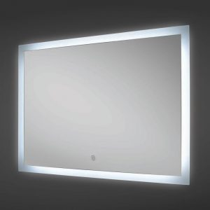 Rak manhattan led mirror with demister pad