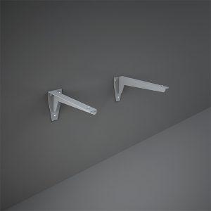 RAK L brackets for counter wash basin Black