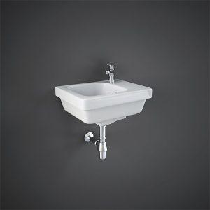 RAK Resort Slimline Cloakroom Basin- 360mm Wide