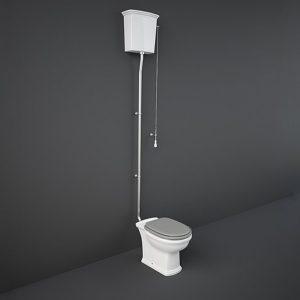 RAK Washington Open Back High Level Toilet Soft Close Seat