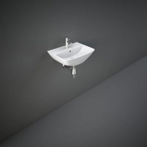RAK Summit 40cm Wall Hung Hang Basin 1Tap Hole