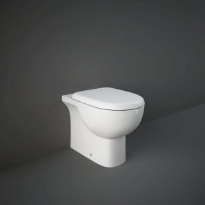 RAK Tonique Back To Wall Toilet With Soft Close Seat – White