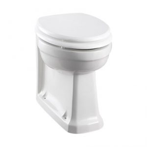 Burlington Back-to-wall Pan – White without Seat