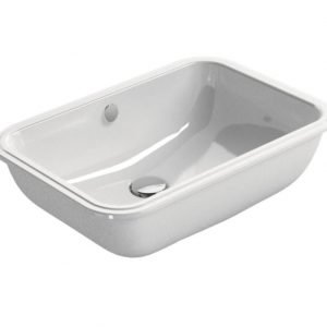 Gsi Classic 550mm X 380mm Under-Mounted Basin – White