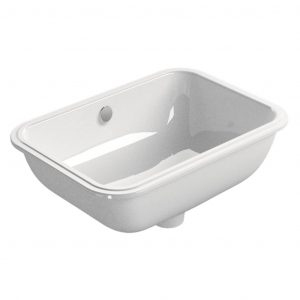 Gsi Classic 500mm X 350mm Under-Mounted Basin White