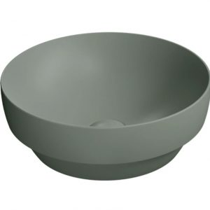 Gsi Pura 400mm X 400mm Countertop Basin – No TH – Agave