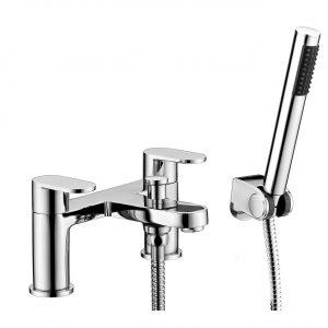 RAK Compact Round Bath Shower Mixer Tap – Chrome