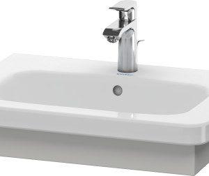 Duravit DuraStyle Washbasin Trim – 580mm Wide – Concrete Grey Matt