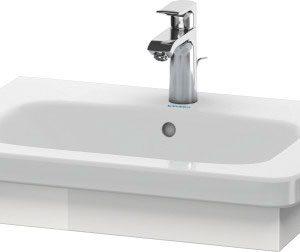 Duravit DuraStyle Washbasin Trim – 580mm Wide – White High Gloss
