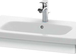 Duravit DuraStyle Washbasin Trim – 730mm Wide – White Matt