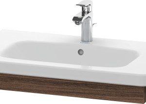 Duravit DuraStyle Washbasin Trim – 730mm Wide – Walnut Dark