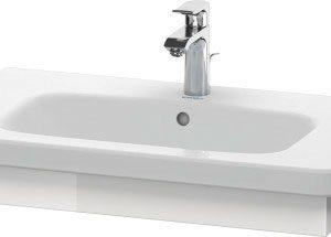 Duravit DuraStyle Washbasin Trim – 730mm Wide – White High Gloss