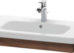 Duravit DuraStyle Washbasin Trim – 730mm Wide – Natural Walnut