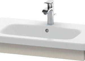 Duravit DuraStyle Washbasin Trim – 730mm Wide – Taupe