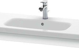 Duravit DuraStyle Washbasin Trim – 930mm Wide – Concrete Grey Matt