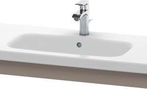 Duravit DuraStyle Washbasin Trim – 930mm Wide – Basalt Matt