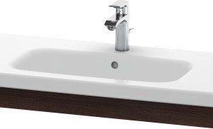 Duravit DuraStyle Washbasin Trim – 930mm Wide – Chestnut Dark