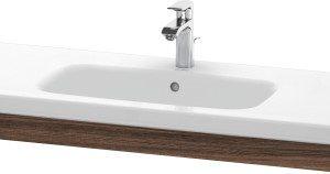 Duravit DuraStyle Washbasin Trim – 1130mm Wide – Walnut Dark