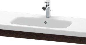 Duravit DuraStyle Washbasin Trim – 1130mm Wide – Chestnut Dark