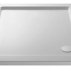 Hudson Reed Square Shower Tray 1000mm X 1000mm – White