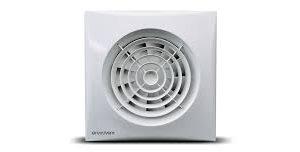 Vogue Silent 100 Electric Fan Standard – White