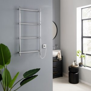 Unique Towel Rail 950 X 500 Heating Only – Chrome – 950Mm X 500Mm