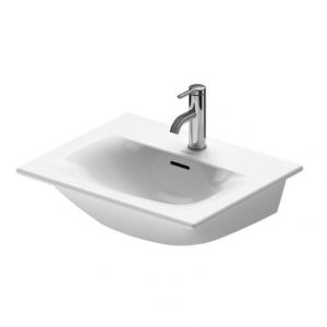 Duravit Viu Furniture Handrinse Washbasin With Overflow – 530mm Wide – white 0 Tap Hole