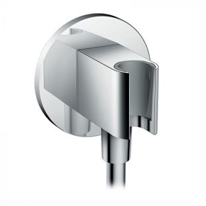 Hansgrohe Fixfit Wall Outlet S With Shower Holder – Chrome