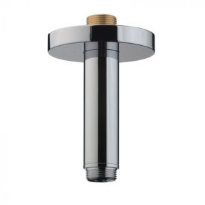 Hansgrohe Ceiling Connector – 100 mm – Polished Red Gold