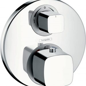 Hansgrohe Ecostat E Thermostatic mixer for concealed installation for 1 outlet with shut-off valve – Chrome