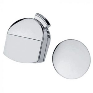 Hansgrohe Exafill Finish Set Bath Filler, Waste and Overflow Set – Brushed Gold Optic