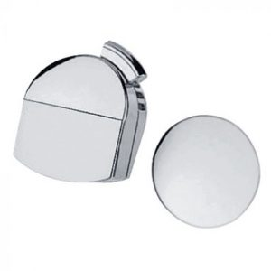 Hansgrohe Exafill Finish Set Bath Filler, Waste and Overflow Set – Brushed Chrome