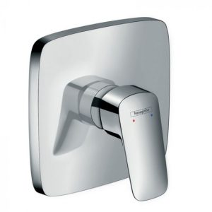 Hansgrohe Logis Single Lever Manual Shower Mixer High flow For Concealed Installation – Chrome