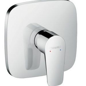 Hansgrohe Talis E Single lever manual shower mixer soft cube for concealed installation – Chrome