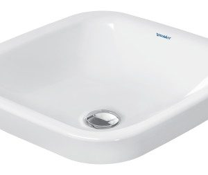 Duravit DuraStyle Square Vanity Basin – 430mm Wide – White