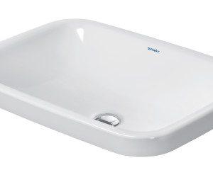 Duravit DuraStyle Rectangular Vanity Basin – WonderGliss – 600mm Wide – White