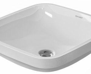 Duravit DuraStyle Under Counter Vanity Basin Without tap platform – 370mm Wide – White