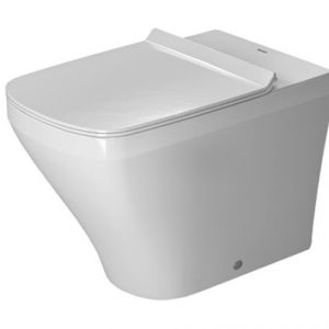 Duravit DuraStyle Back To Wall Toilet With automatic closure seat, Cover – 370mm Wide – White