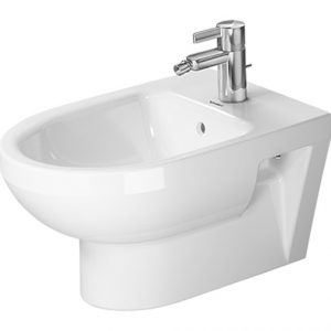 Duravit DuraStyle Wall Mounted Basic Bidet With Overflow -370m Wide – 1TH – White