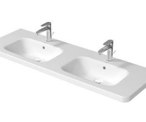 Duravit DuraStyle Double vanity Unit Basin – 1400mm Wide – 1TH – White