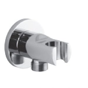 Vado Elements Integrated Outlet and Shower Bracket Wall Outlet Chrome